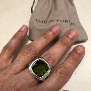 DAVID YURMAN ALBION PRASIOLITE RING